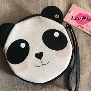 Luv Betsey by Betsey Johnson Panda Wristlet Coin
